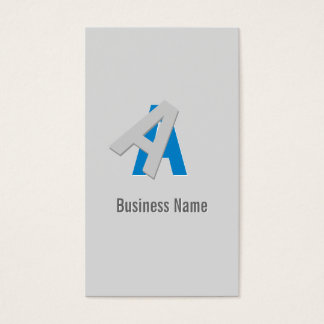 Cool Puzzle Text Consultant Business Card