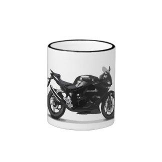 COOL RACING SPORTS BLACK MOTORCYCLE 297090 motorbi Ringer Mug