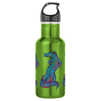 Cool Rainbow Gator 532 Ml Water Bottle