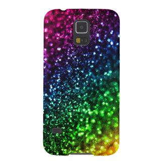 Cool Rainbow Glitter Samsung Galaxy S5 Case