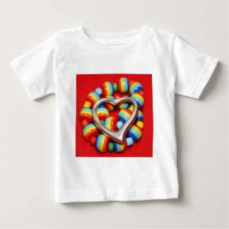 Cool Rasta Beads Design Baby T-Shirt