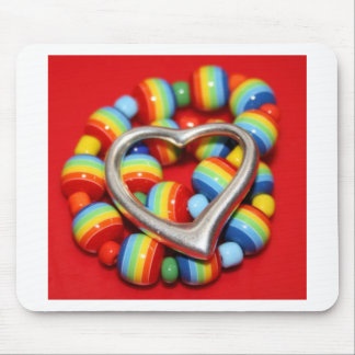 Cool Rasta Beads Design Mouse Mat