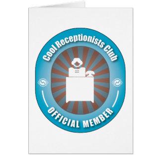 Cool Receptionists Club Card