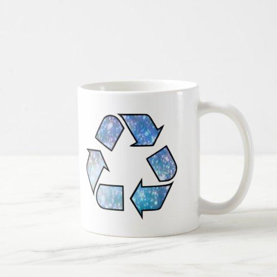 Cool Recycling Symbol Coffee Mug