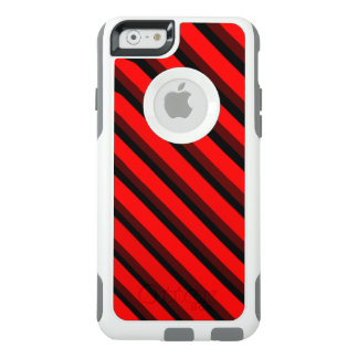 COOL Red and Black Striped Patterns OtterBox iPhone 6/6s Case