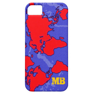 cool red carte du monde case for the iPhone 5