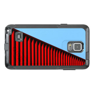 COOL Red Line Pattern OtterBox Samsung Note 4 Case