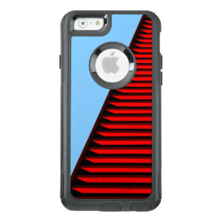 COOL Red Lined Pattern OtterBox iPhone 6/6s Case