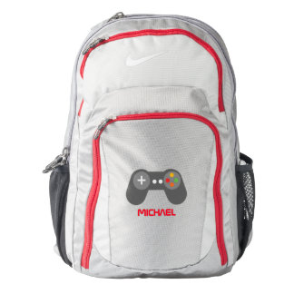 Cool Red Video Game Controller Backpack