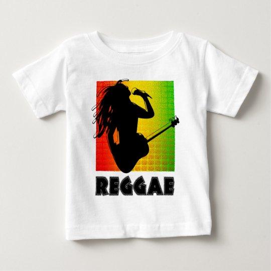 Cool Reggae Rasta Music Guitar Playing Rastaman Baby