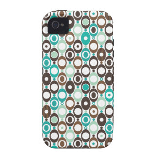 Cool retro disco pattern illustration Case-Mate iPhone 4 cases