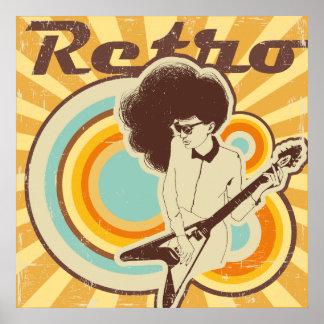 Cool Retro Fun Design Poster