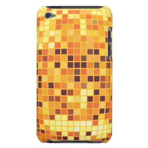 Cool Retro Golden Disco Ball Custom iPod Touch Cas iPod Touch Cases