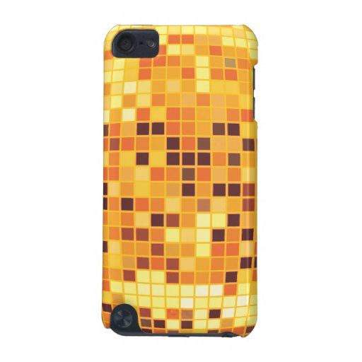 Cool Retro Golden Disco Ball Custom Touch Cas iPod Touch (5th Generation) Covers