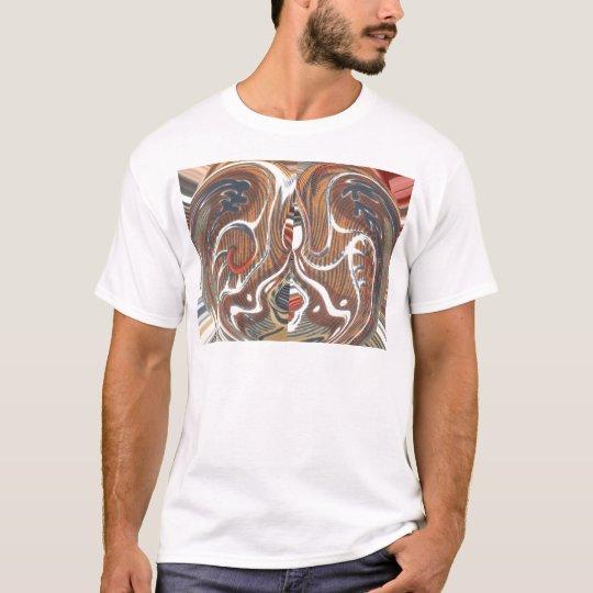 Cool Retro Vintage Aztec Hakuna Matata Colours T-Shirt