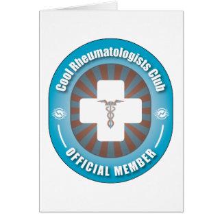 Cool Rheumatologists Club Greeting Card