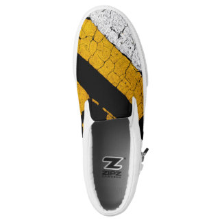 Cool Road Paint Slip-On Shoes
