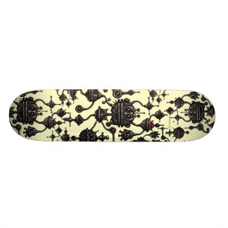 Cool robotics abstract graphic art skateboard