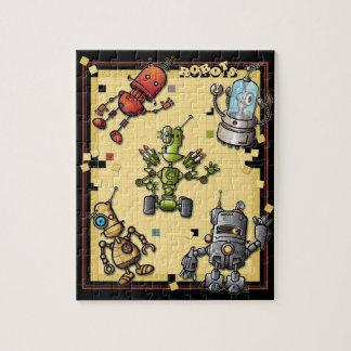 Cool Robots Puzzle
