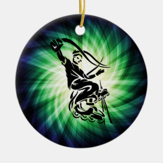 Cool Rollerblade Gift Christmas Ornament
