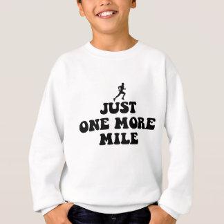 Cool running saying sweatshirt