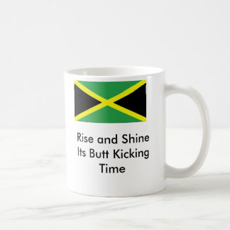 Cool Runnings, butt kicking time Basic White Mug