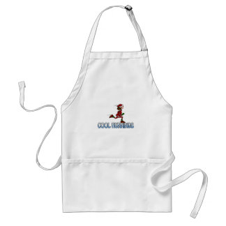 cool runnings (woman) adult apron