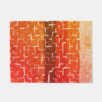Cool Rustic Autumn Colors Doormat