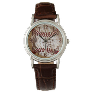 Cool Rustic BASEBALL Watch in many Styles
