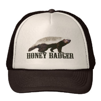 Cool Rustic Honey Badger Cap