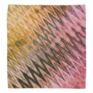 COOL Rustic Wavy Pattern Bandana