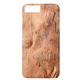 Cool Rustic Wood Texture Look - Manly Pattern iPhone 7 Plus Case