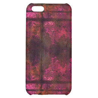Cool rusty metal iPhone Pink 2 iPhone 5C Cases