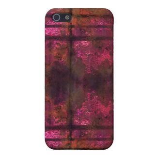 Cool rusty metal iPhone Pink 2 iPhone 5 Cases