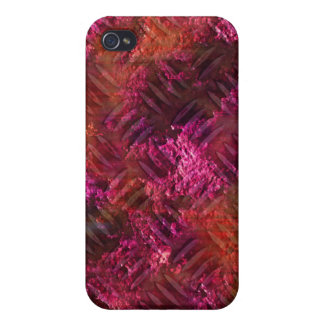 Cool rusty metal iPhone Pink Cover For iPhone 4