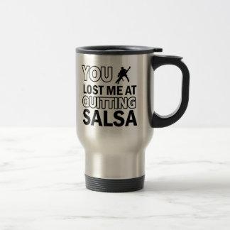 Cool Salsa designs Travel Mug