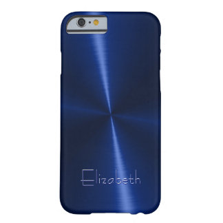 Cool Shiny Radial Steel Metal Barely There iPhone 6 Case