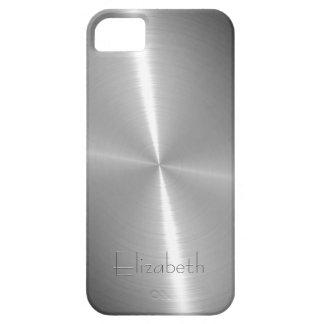 Cool Shiny Radial Steel Metallic iPhone 5 Covers
