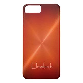 Cool Shiny Radial Steel Metallic iPhone 7 Plus Case