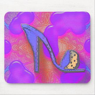 cool shoe mouse mat