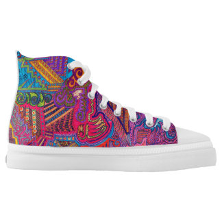 Cool shoes! printed shoes