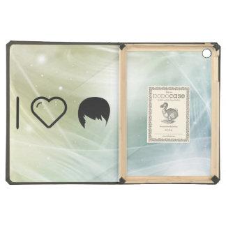 Cool Short Hair iPad Air Covers