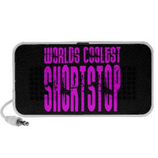Cool Shortstops Pink : Worlds Coolest Shortstop Travel Speaker