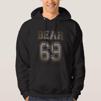 Cool Silver Brown Bear Pride Bear 69 Hoodie