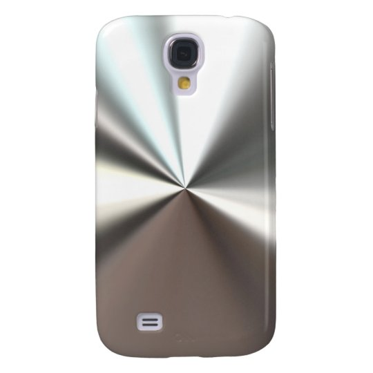 Cool Silver Metal Look Samsung Galaxy S4 Case