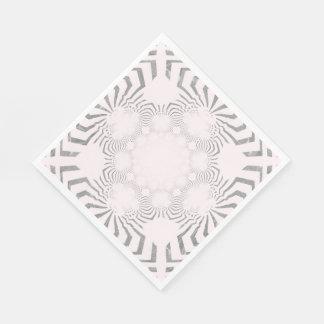 Cool Simple elegant party time timeless design art Disposable Napkins