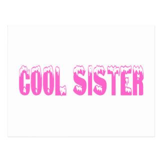 Cool Sister Postcard
