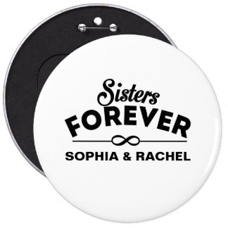 Cool - Sisters Forever 6 Cm Round Badge