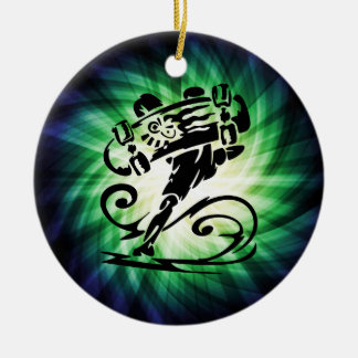 Cool Skater; Skateboarder Christmas Ornament