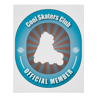 Cool Skaters Club Poster